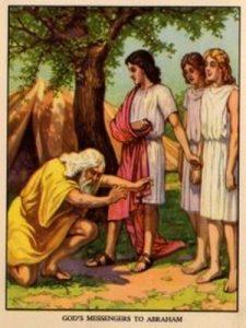 Abraham Meets 3 Angels